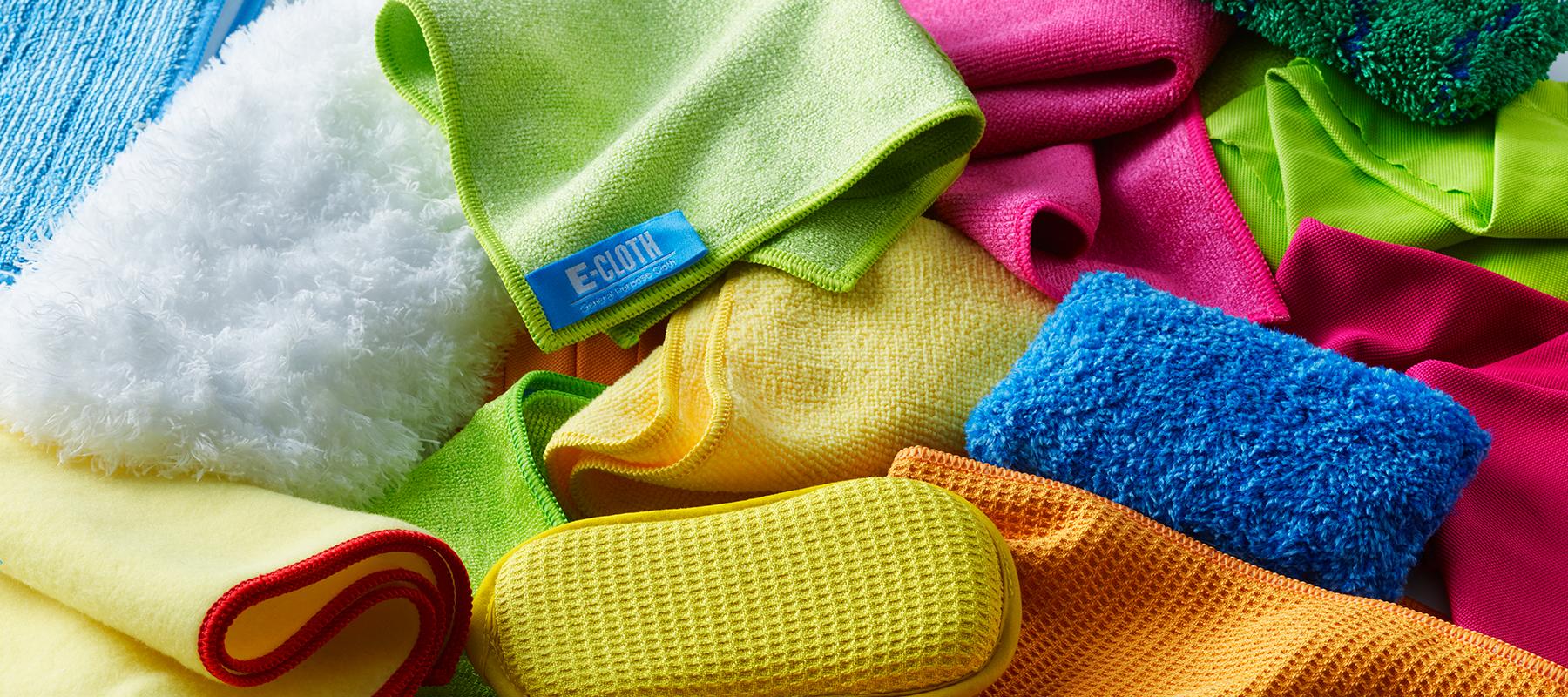 E-Cloth Pads und Tücher putzen das ganze Haus