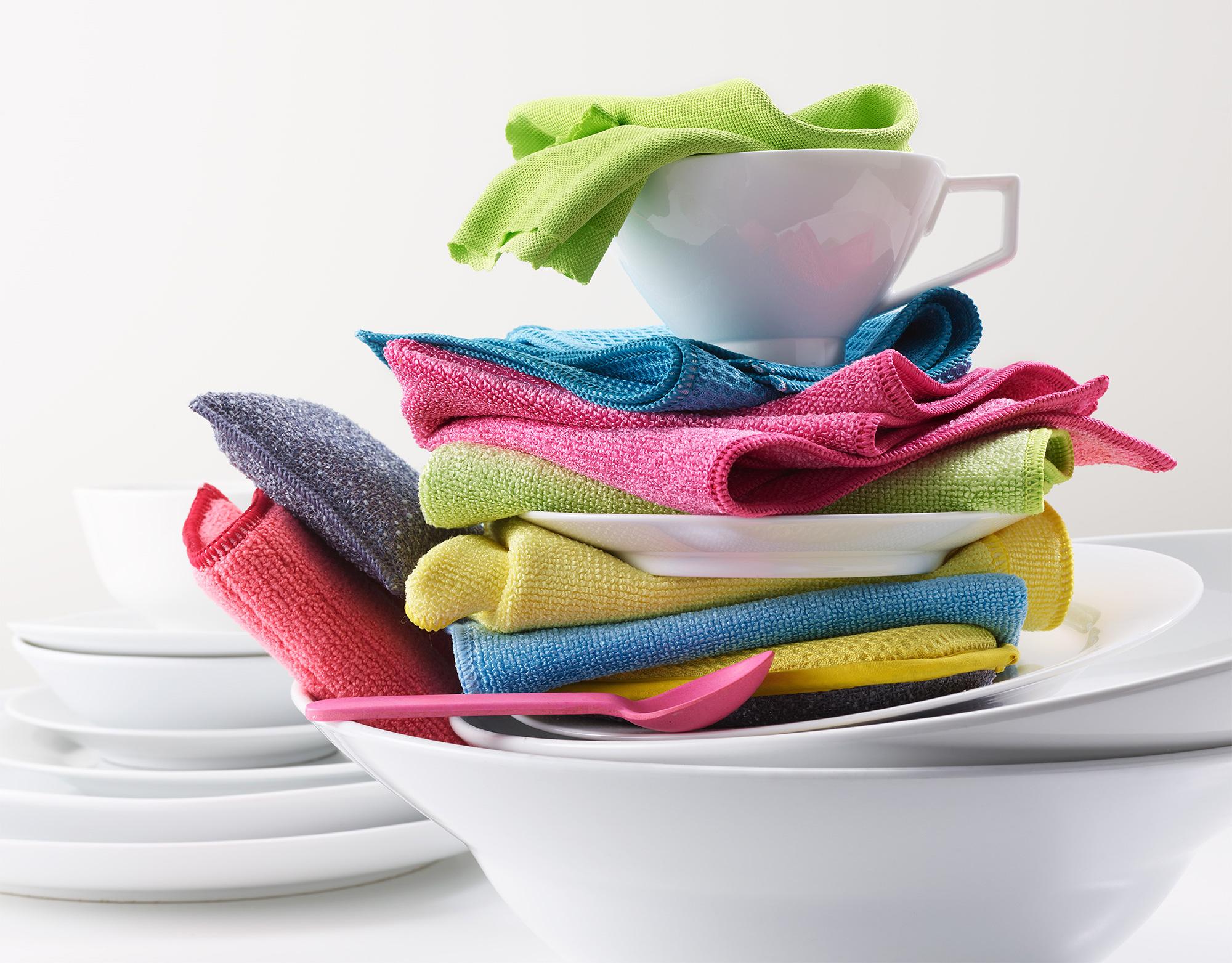 Pads und E-Cloth Reinigungstücher